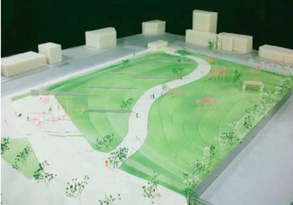 図6 広場のデザイン提案