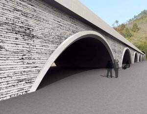 図5 道路(盛土構造)のデザイン提案