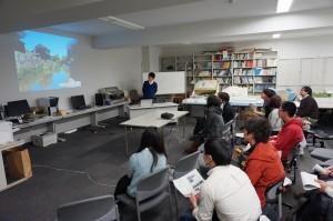 M1の学生が研究室生活の紹介
