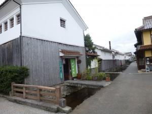 倉吉の白壁土蔵