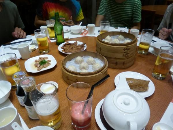 本場の中華料理に舌鼓